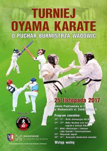 Plakat B2 - Turniej Oyama Karate Wadowice 2016 copy